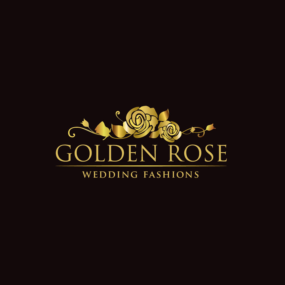 golden rose wedding fashions